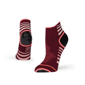 Meditated Sock - Maroon