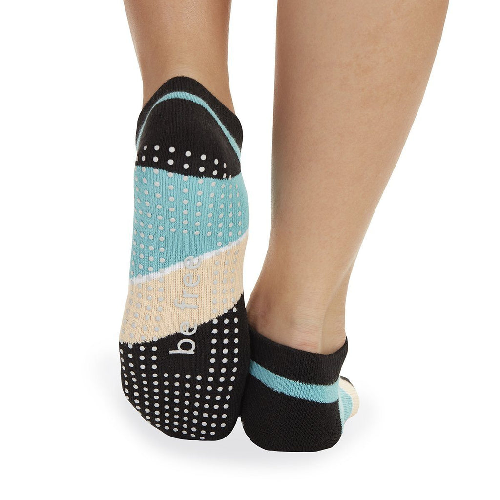 Be Free Althea Grip Socks - Blaze