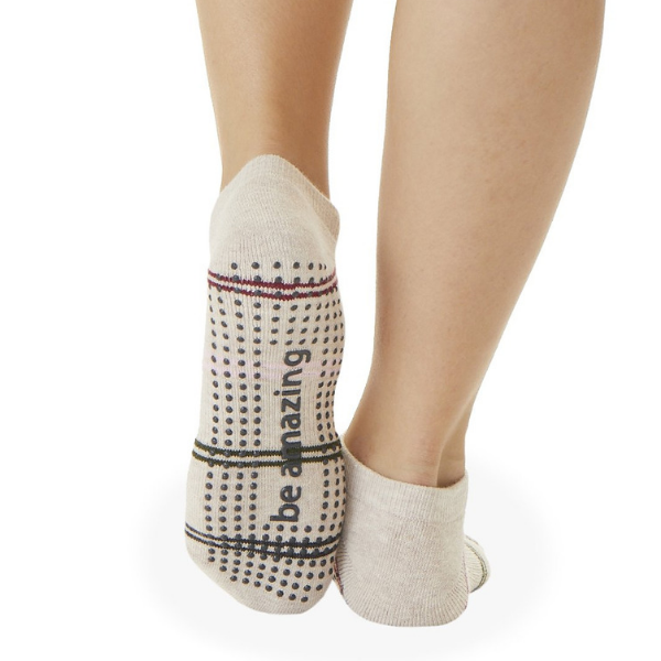 Be Amazing - Quartz Grip Socks (Barre / Pilates)