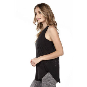 strut this cruz tank top in black