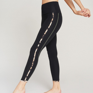 Strut This Havana Ankle Black Olive Wildcat Leggings