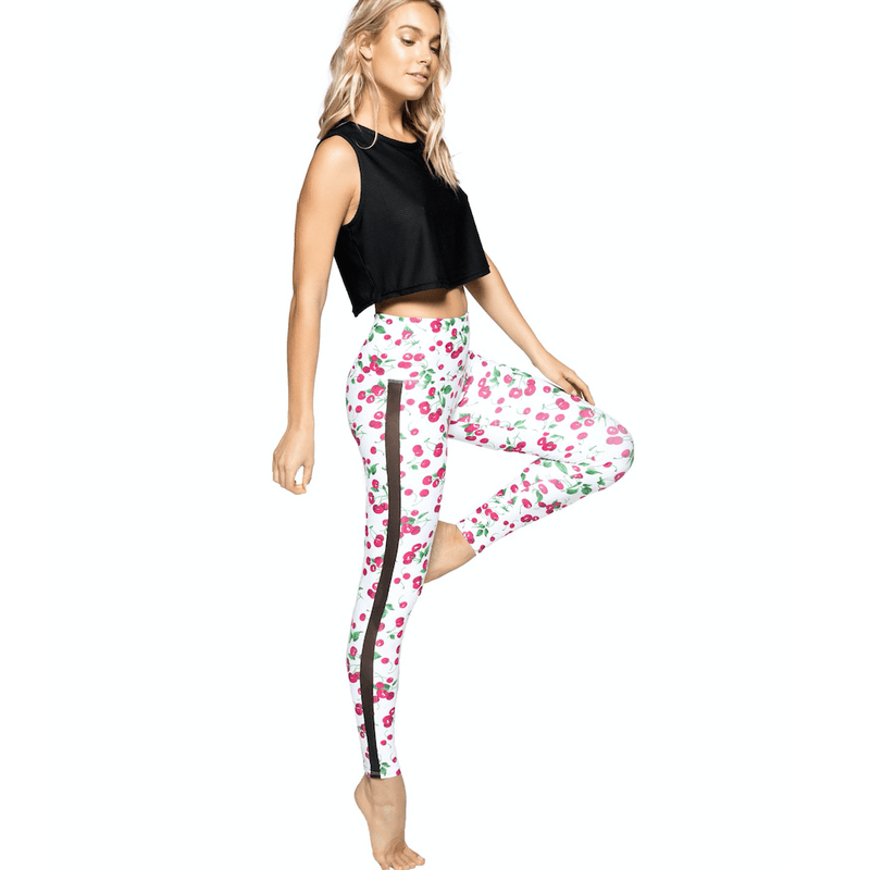 gemma ankle legging in cherry pop by strut this