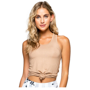 Strut This Calvin Tank Taupe