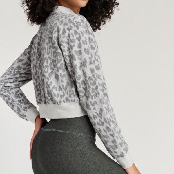 Strut This - Georgie Sweater Grey Freckle