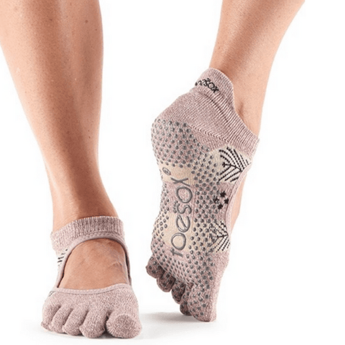 Bellarina Sugar Plum Full Toe - Grip Socks (Barre / Pilates)