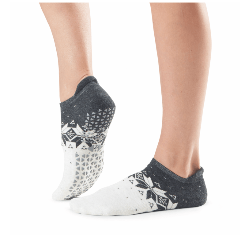 Savvy Fairisle Grip Socks (Barre/Pilates)