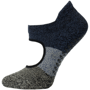 pointe studio Tessa Grip Sock black oatmeal