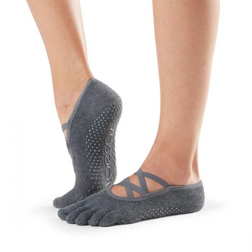 Elle Full Toe Grip Socks - Grip Socks (Barre / Pilates / Yoga)