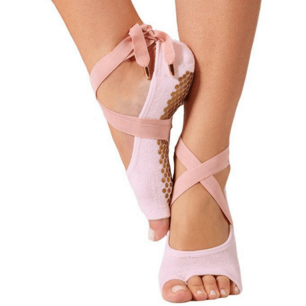 the toeless honey grip sock in pink by luckyhoney