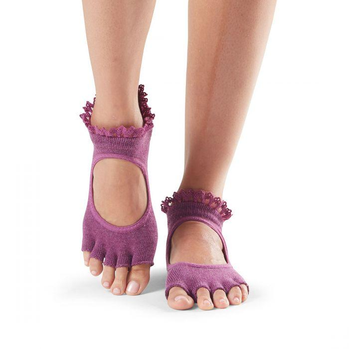 Bella Half Toe Grip Socks (Barre / Pilates)