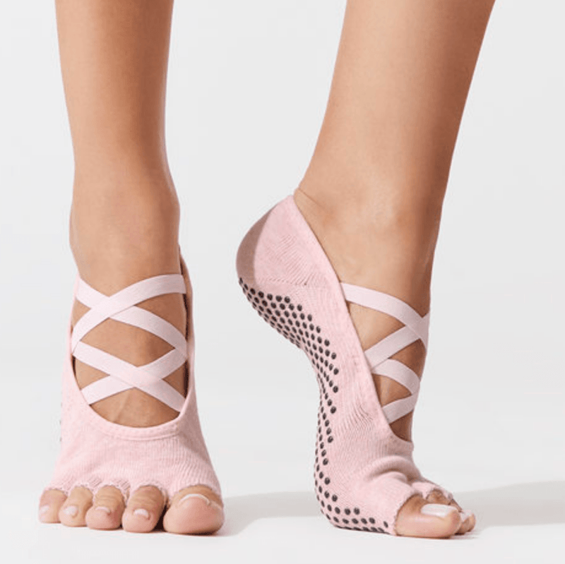 Elle Half Toe - Grip Socks (Barre / Pilates / Yoga)