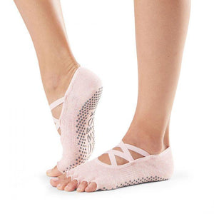 toesox elle grip socks crystal