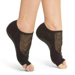 Toesox Luna Half Full Toe Grip Socks pitch
