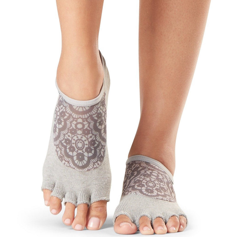 Luna Half Toe Grip Socks (Barre / Pilates)