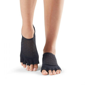 Toesox Luna Half Full Toe Grip Socks twilight