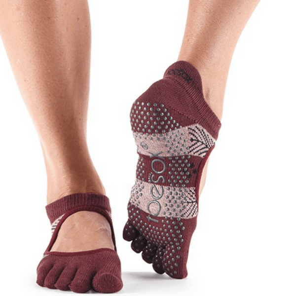 Bellarina Wonderland Full Toe - Grip Socks (Barre / Pilates)