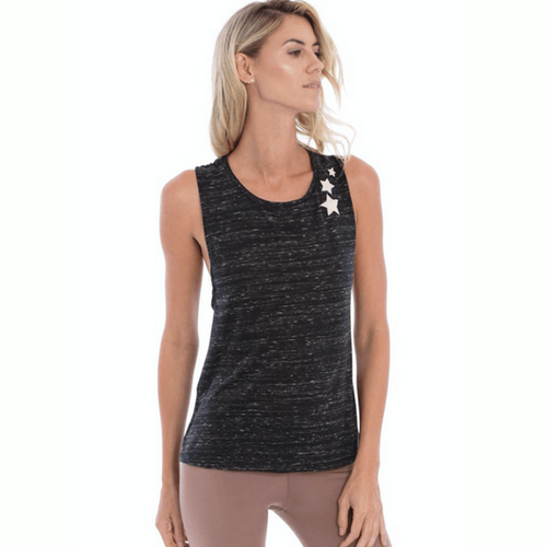 All Stars Tank - Black Melange