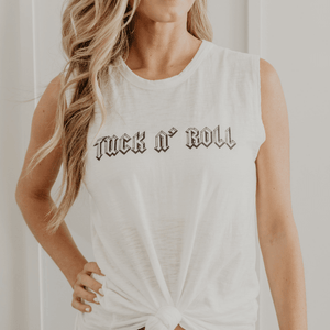 simplyWORKOUT Tuck n' Roll Rocker Tank