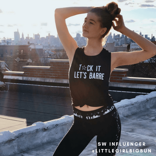 simplyworkout Tuck It. Let's Barre. - Muscle Tank