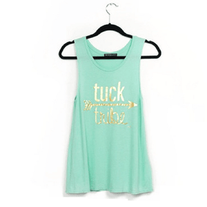 tuck tribe workout tank for barre girls by EDJE Activ