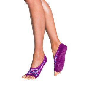 tucketts ballerina sugar plum shine grip socks