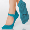 sweet grip shashi sock in turquoise for barre and pilates
