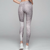 palms yoga tight in taupe snake by VARLEY