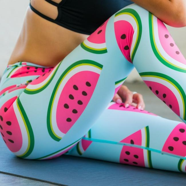 flexi lexi Watermelon Flexi Yoga Pants