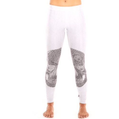 White Crystal Skull - Performance Legging