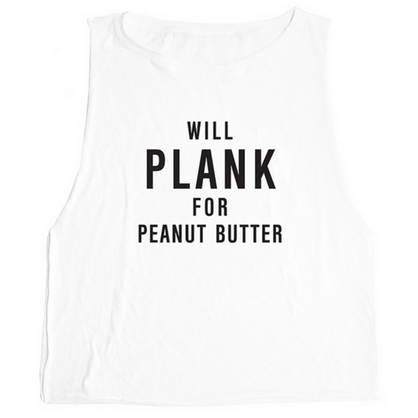 Will Plank for Peanut Butter Tank - Emi Jay