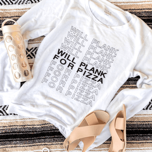 Will Plank For Pizza Cozy Pullover