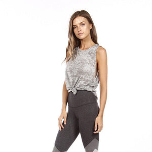 strutthis cruz tank top in gray