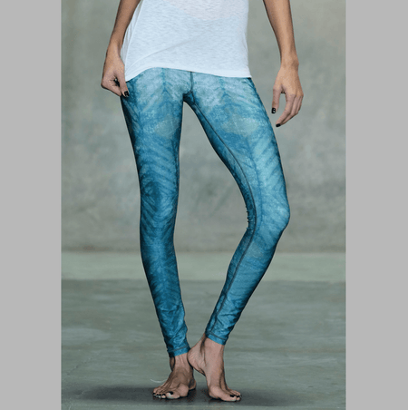 Vital 7/8 Orchid Haze and White Stripe Leggings