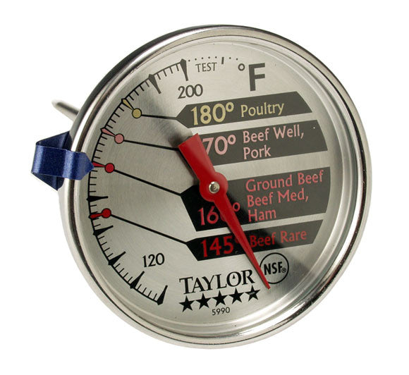 New Taylor # 5990N Professional Meat Dial Thermometer