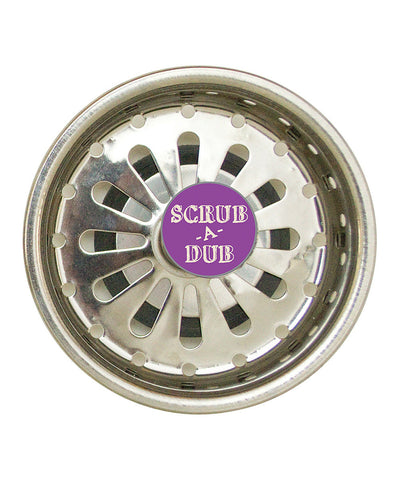 NEW Boston Warehouse # 52080 Kitchen Gems Stainless Steel Scrub A Dub Sink Strainer