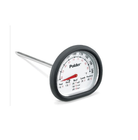New Polder # 12454 In-Oven Leave In Kitchen Cooking Thermometer
