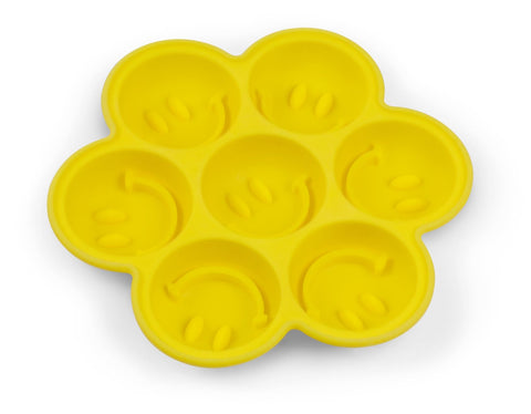 New Fred # 1846 Silicone Chocolate Ice Tray Mold - Happy Face Have A Nice Day