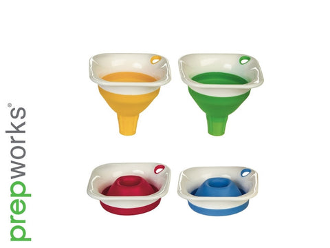 New Progressive # CF-150 Collapsible Mini Funnel Bottle - Assorted Colors