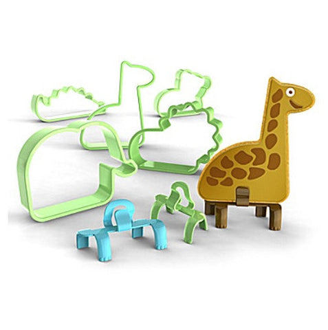 Fox Run Bakelicious 29 pc Animals Cookie Feet Cutter Set