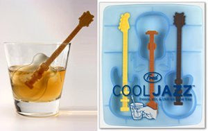 New Fred # 1528 Silicone Chocolate Ice Tray Mold - Cool Jazz Guitars