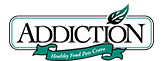 Addiction logo nznaturalpetfood nz natural pet food