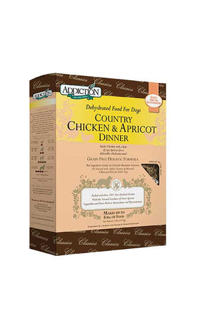 Addiction - Raw Dehydrated Chicken & Apricot