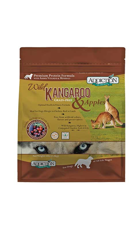 Addiction - Wild Kangaroo & Apples