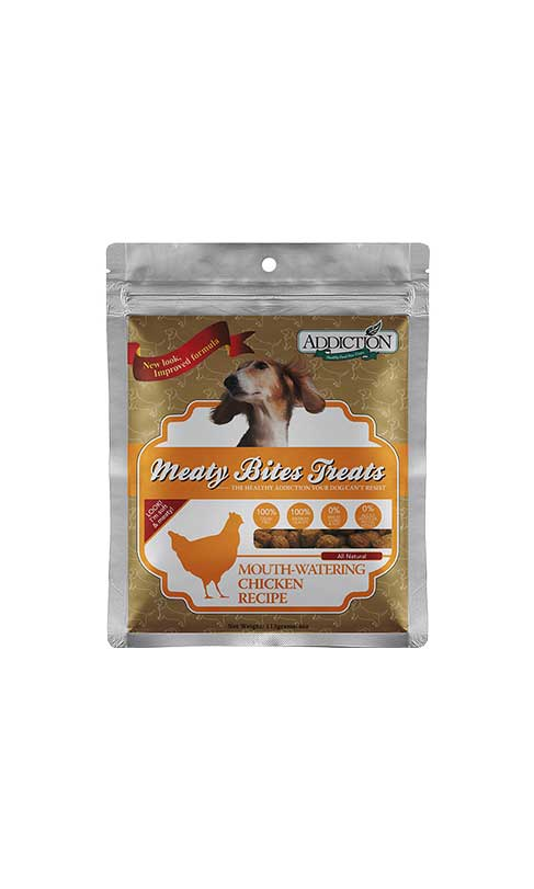 Addiction - Meaty Bites Treats Chicken