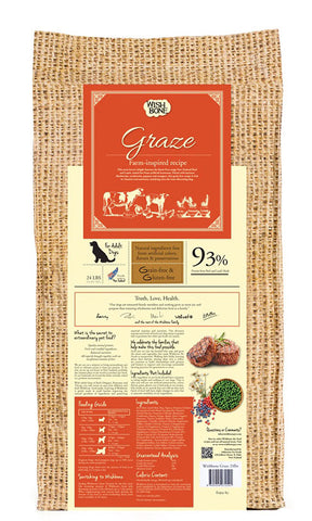 Wishbone - Graze Grain Free New Zealand Beef