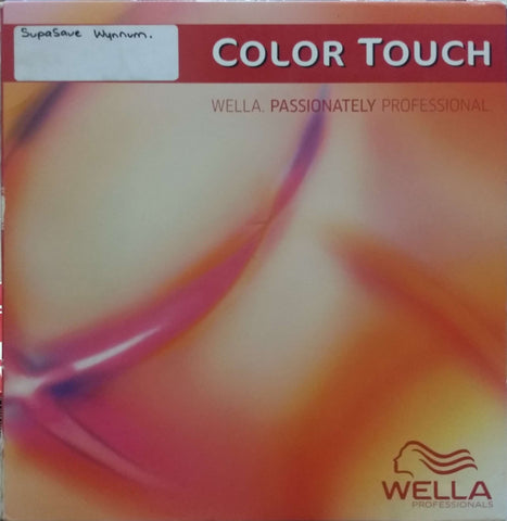 Wella Colour Touch Colour Chart