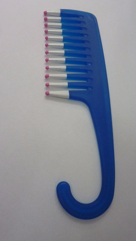 Shower Comb ( some have hanging hook some have a handle only )