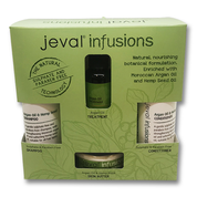 Jeval Infusions Argan oil & Hemp Seed Quad Pack