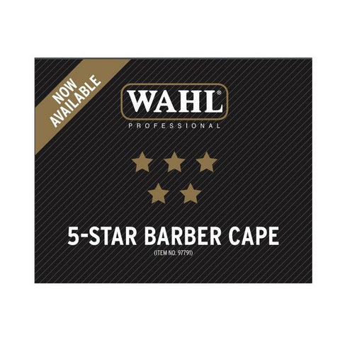 Wahl 5 Star Barber Pinstripe Cape