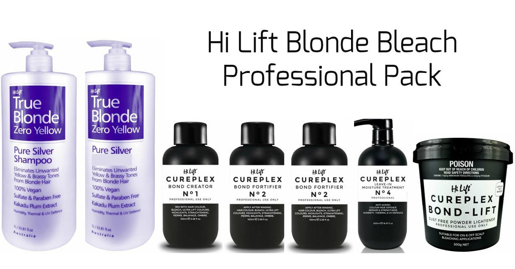Hi Lift Blonde Bleach Pack Professional Only